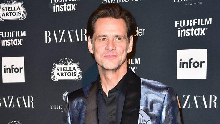 Jim Carrey at NYFW
