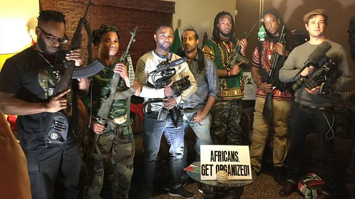 On the ground with America's Black Power soldiers - BBC Three