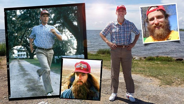Meet The Real Life Forrest Gump Who Just Felt Like Running Bbc Three