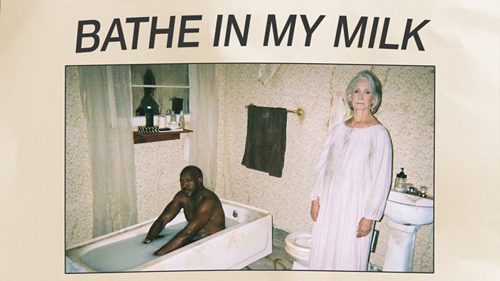 Close up of Bathe In My Milk poster