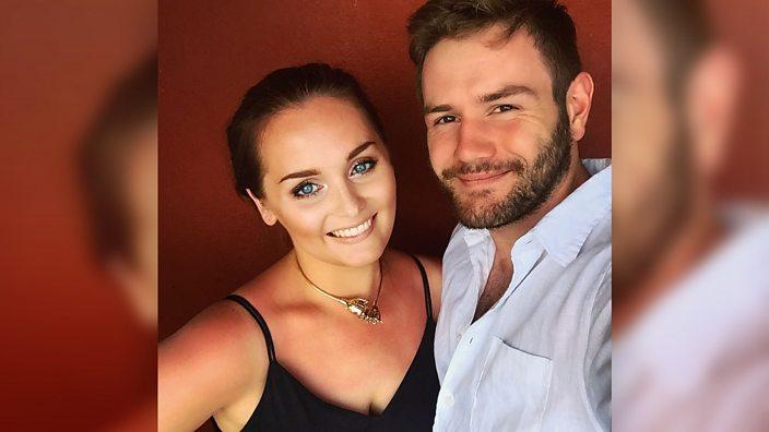 Ali and her boyfriend