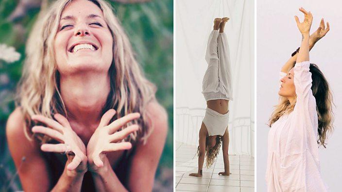 Yoga teacher, Uma Elizabeth Knight