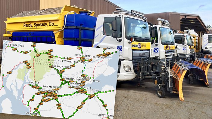 The Gritter map and Ready Spready Go