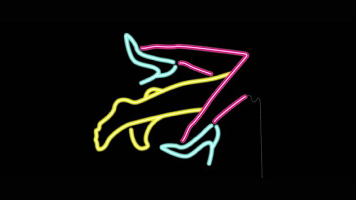 Neon legs