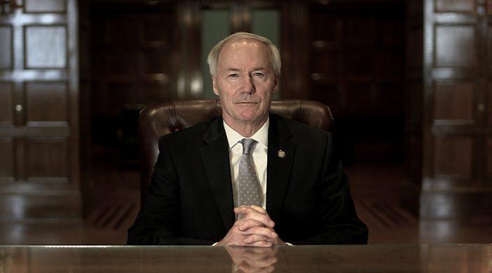 Arkansas Governor Asa Hutchinson