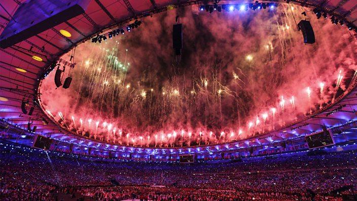 Opening ceremony, Maracana, Rio 2016