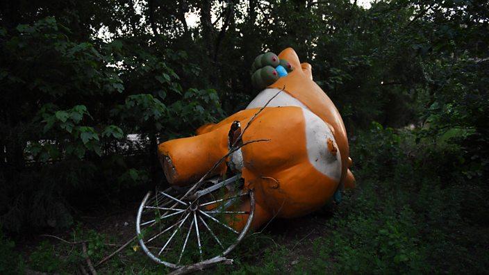 Abandoned mascot Yingying