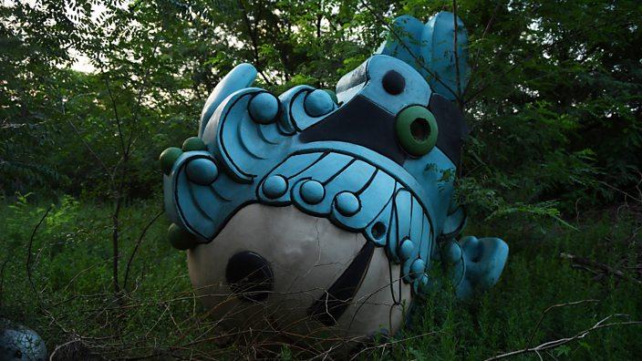 Abandoned mascot Beibei