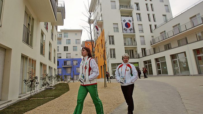Torino olympic village