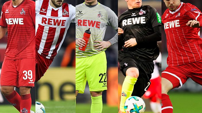 Just the 7 different shirts for FC Cologne so far this season - BBC ... ea8378be3