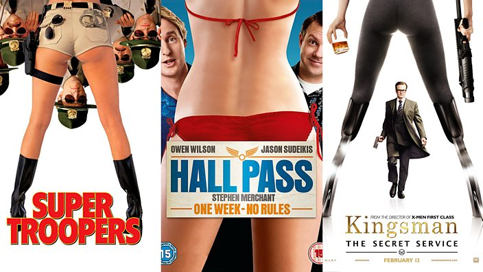 headless women of hollywood in various film posters