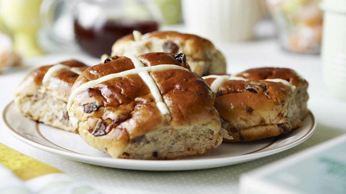 A lot of hot cross buns are already vegan