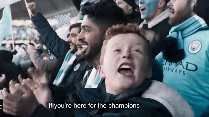 Manchester City celebration video