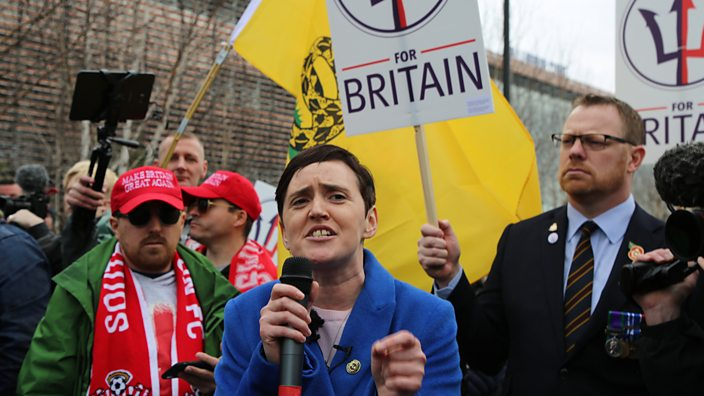 Anne Marie Waters, leader of t...