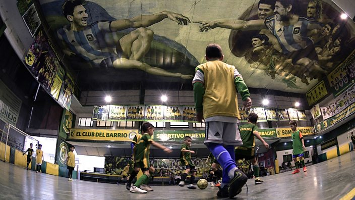 Indoor football in Buenos Aires