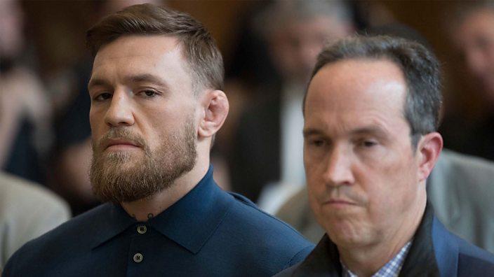 Conor McGregor in court