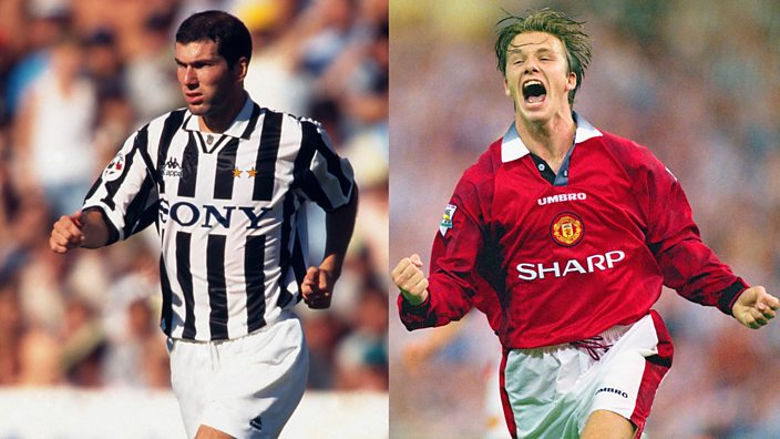 Juventus and Manchester United in the ... e77e48745c0ca