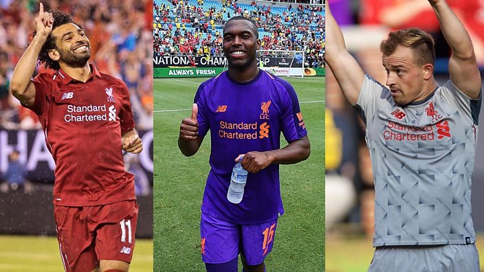 cb4e12e2871 Liverpool. Liverpool Instagram  liverpoolfc. Liverpool. The home kit with  the polo and ...