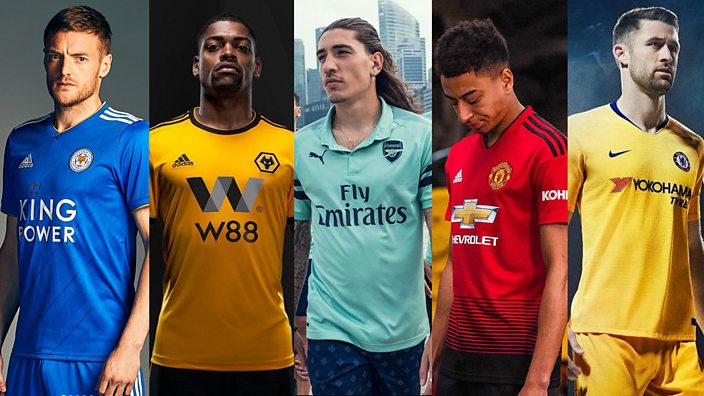 1c3b52366d2 Leicester City, Wolves, Arsenal, Manchester United and Chelsea's new kits