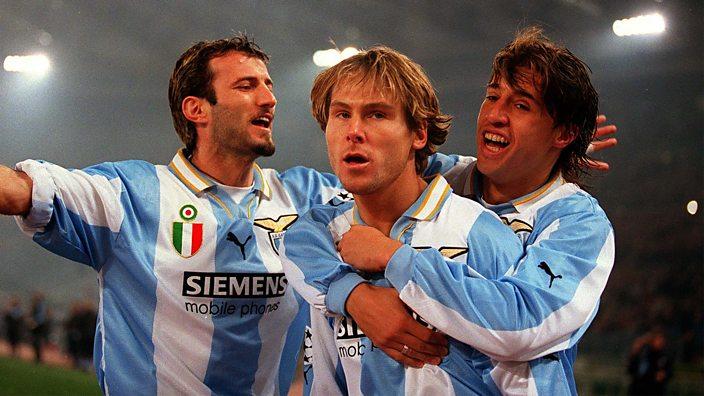 Pavel Nedved at Lazio
