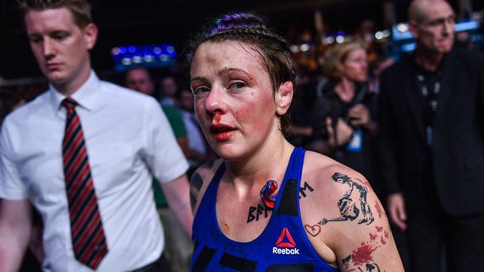 Joanne Calderwood at UFC Glasgow