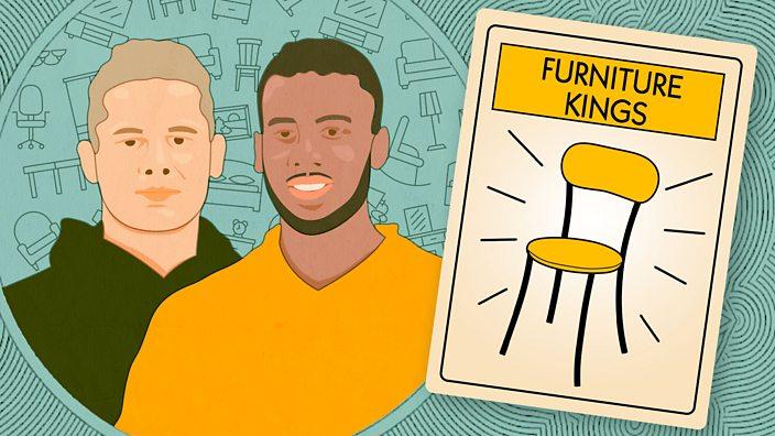 Illustration of Dan and Monty