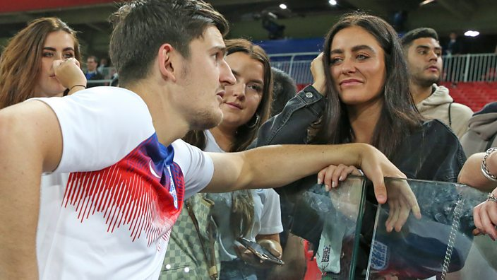 Harry Maguire and girlfriend