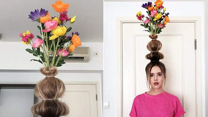 Flower Vase Hair Is The Latest Trend You Didnt Know You Wanted