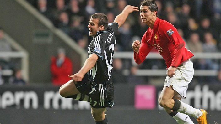 Steveb Taylor and Cristiano Ronaldo