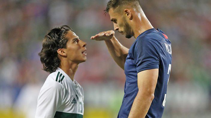 Matt Miazga insults Diego Lainez