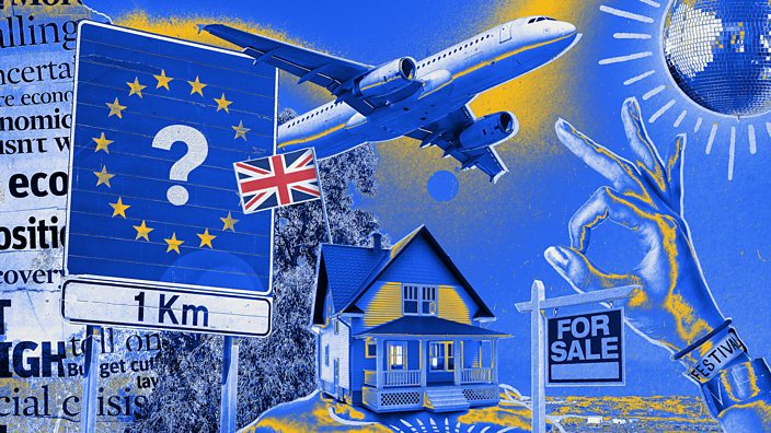 Brexit deal collage image