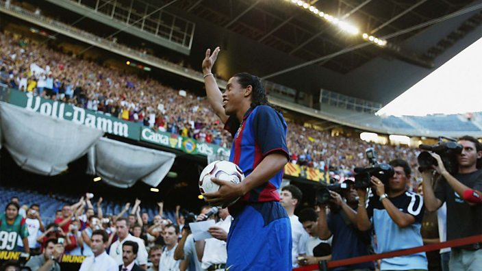 Ronaldinho at Barcelona