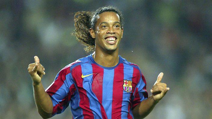 Ronaldinho in his pomp at Barcelona