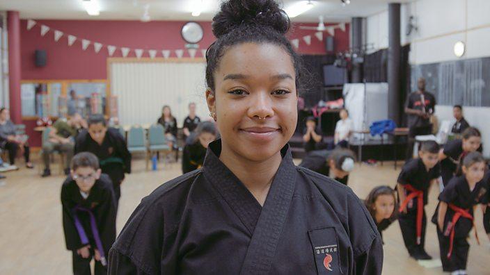 Bbc Bitesize Shola Trainee Karate Instructor
