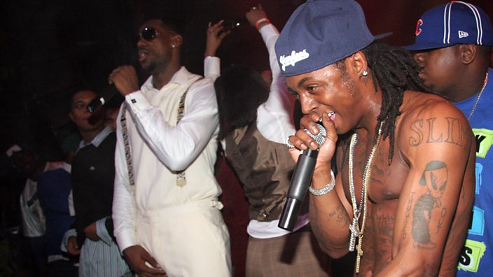 Lil Wayne performs at LeBron's 21st