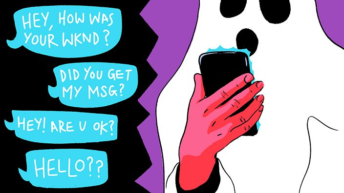 Why I ghosted my best friend - BBC Three