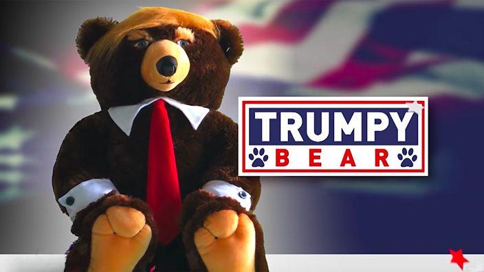 Trumpy Bear: Will Trump teddy bear make Christmas great again? - BBC Three