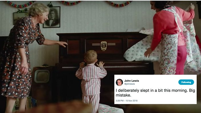 John Lewis Christmas advert: please think of the patient @johnlewis today - BBC Three