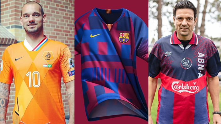 3899c1b3b Mash-up football shirts are definitely a thing now - BBC Three
