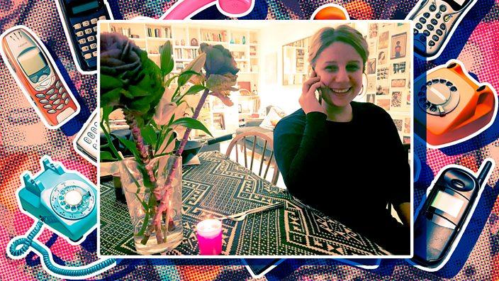 Natalie in restaurant