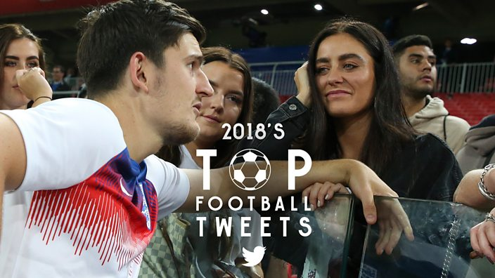 2018's Top Football Tweets