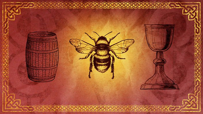 Image of a bee and a chalice