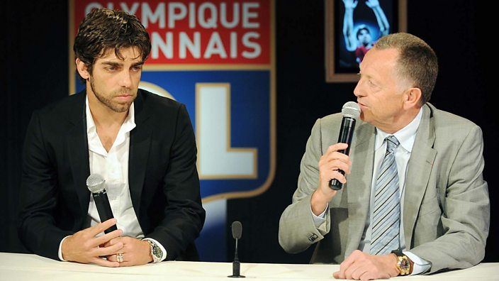 Juninho and Jean-Michel Aulas announce his departure from Lyon