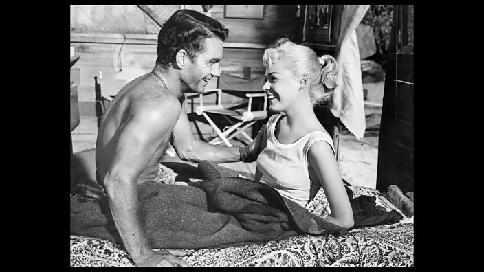 Cliff Robertson and Sandra Dee...