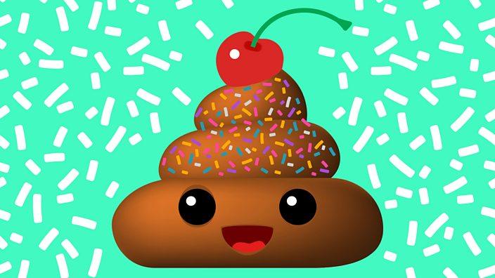 Emoji poop dessert