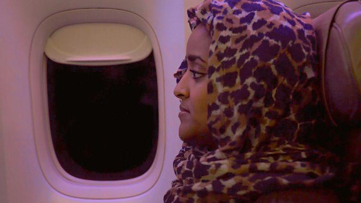 Basma landing in Jeddah