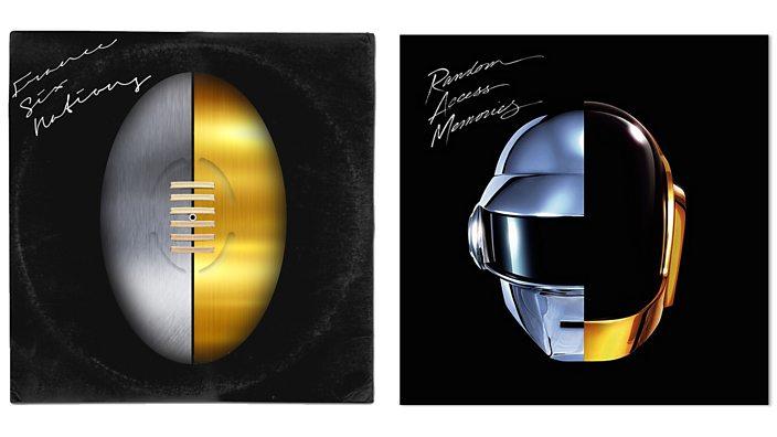 Daft Punk album art rework