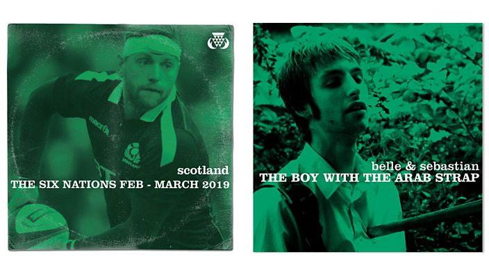 Scotland concept album art