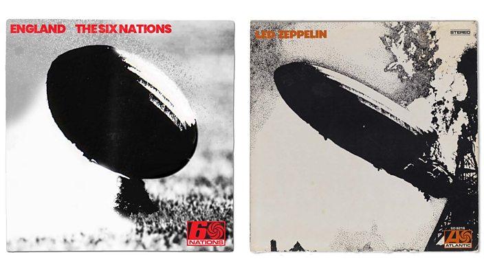 Led Zeppelin album cover rework