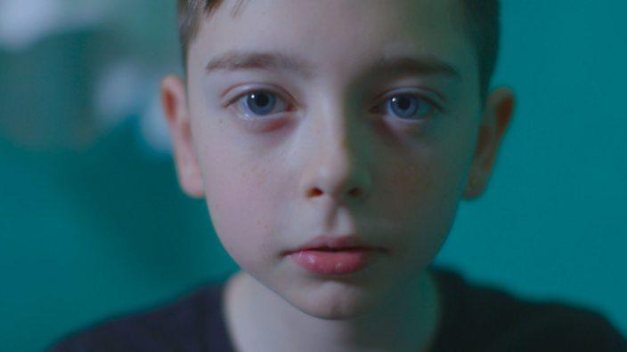 Matty Hibbert, 13, looking pensive